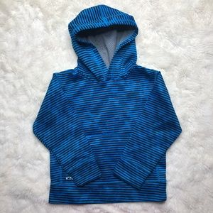 RBX Striped Pullover Hoodie Blue Size 4T